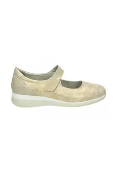 zapatos dorados niña