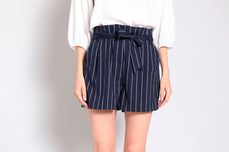 pantalon-corto-estampado-rayas-pimkie