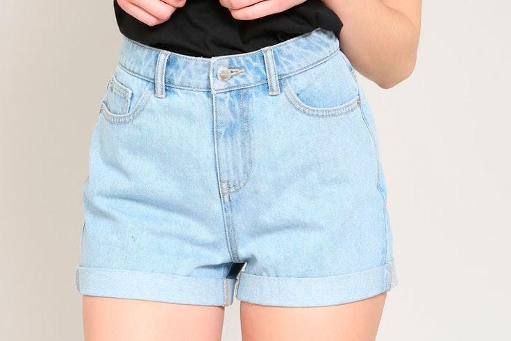 pantalon-corto-vaquero-azul-pimkie-maxcenter