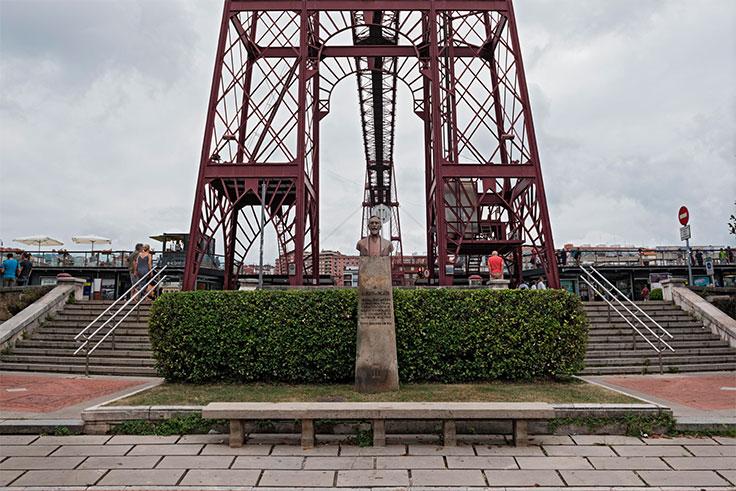Puente Colgante Bilbao características