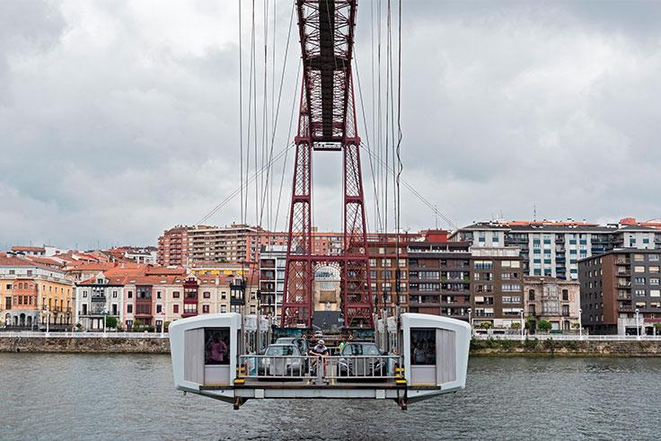 Puente Colgante Bilbao fotos
