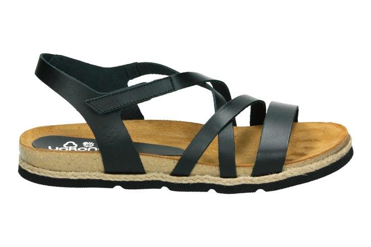 sandalia-plana-tira-negro-loogo