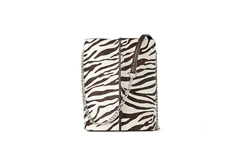 Bandolera saco animal print