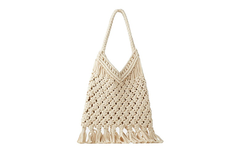 bolso shopper crochet