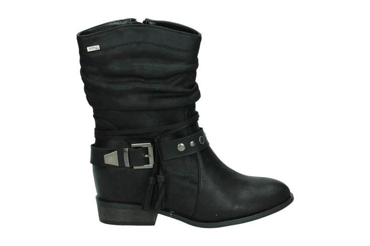botines-de-mujer-negros-estilo-cowboy-loogo
