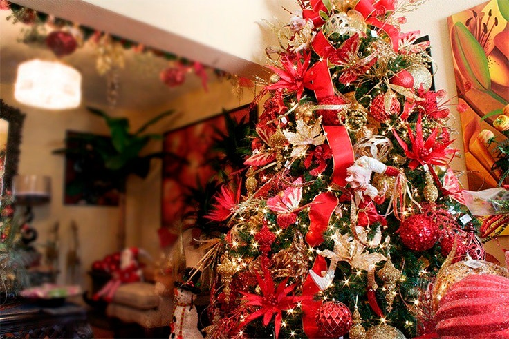 árbol De Navidad 2018 Cómo Decorar Un árbol De Navidad