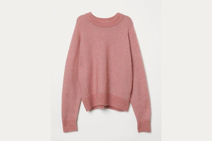 belen-hostalet-jersey-de-punto-rosa-hm