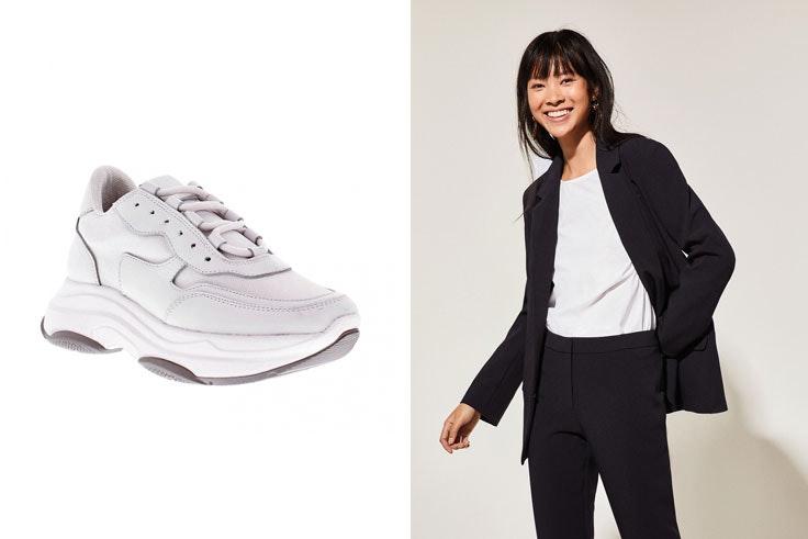 prendas-de-punto-conjunto-zapatilla-blanca-deportiva-vas-chaqueta-americana-blazer-negra-cortefiel-chiara-ferragni
