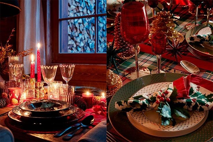 La decoración de la mesa