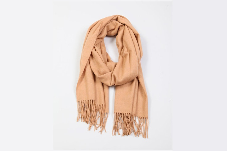 bufanda-marron-claro-camel-pimkie