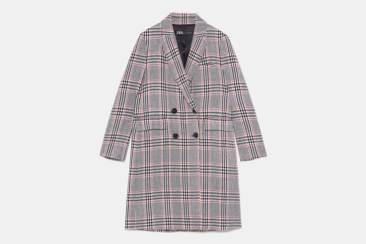 abrigo-largo-estampado-cuadros-zara