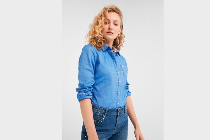 camisa-azul-clasica-springfield