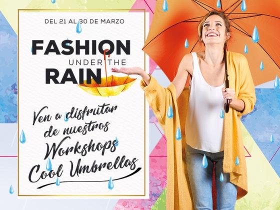 fashion under the rain
