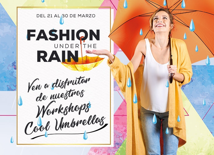 fashion under the rain