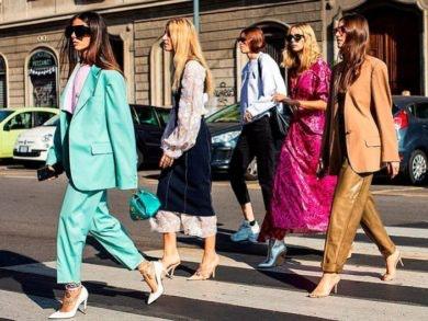 las tendencias de moda 2019