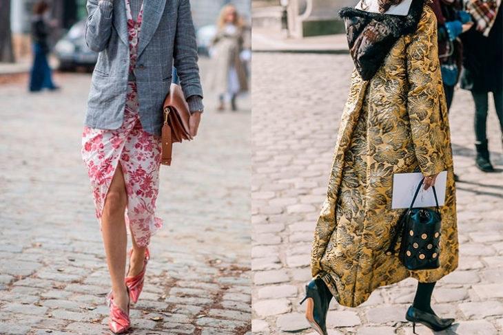 tendencias de moda estampado flores