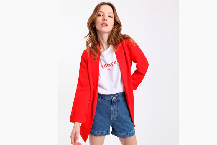 blazer-color-rojo-basica-pimkie
