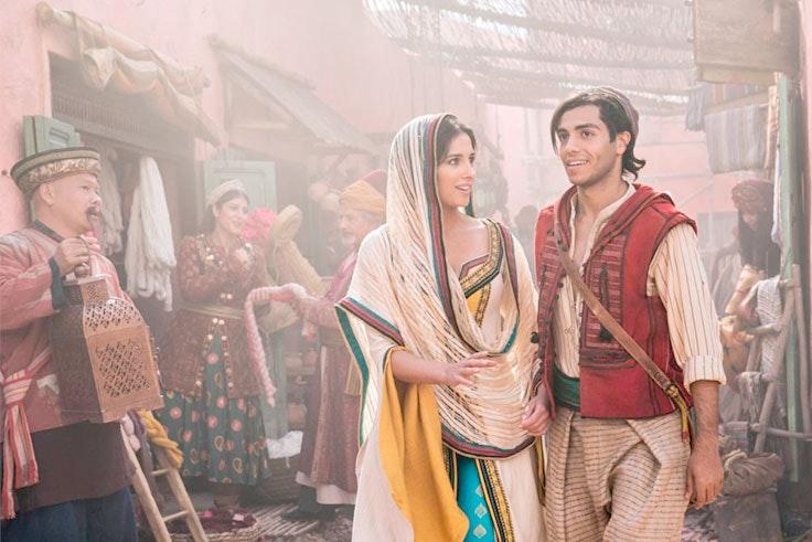 Quiénes son los protagonistas de Aladdin
