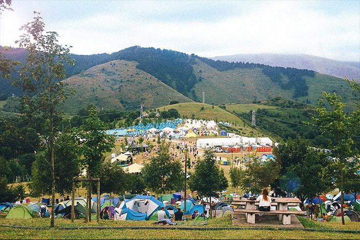 Bilbao-BBK-Live-camping