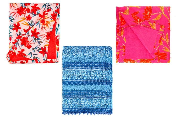 toallas-con-flores