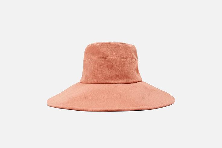 bucket hat rosa zara