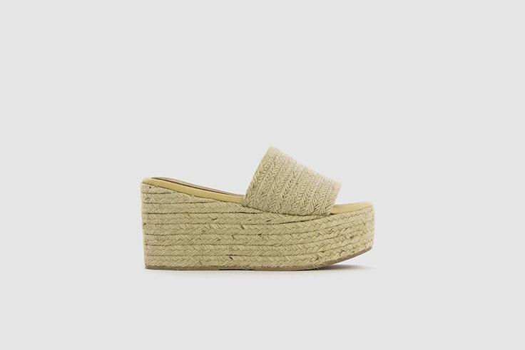 sandalia yute plataforma Vas calzado de verano