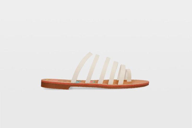 sandalias tiras tubulares ulanka calzado de verano