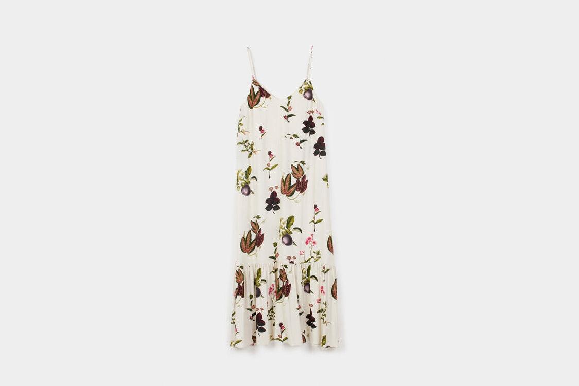 vestido floral parfois