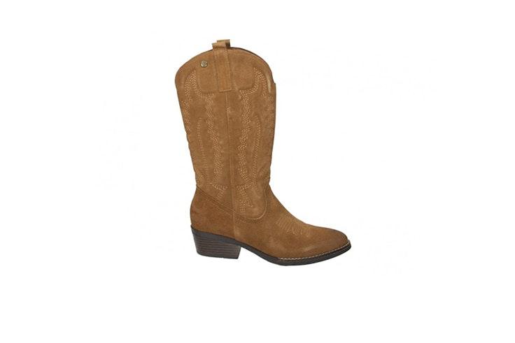 botas cowboy marrones loogo esenciales de otoño