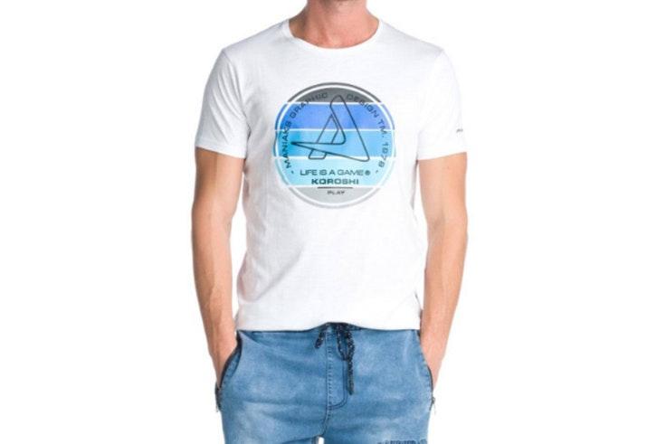camiseta blanca koroshi
