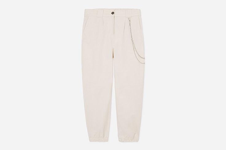 pantalon cargo beige lefties