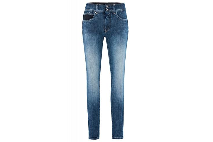 pantalon vaquero pitillo ajustado salsa jeans