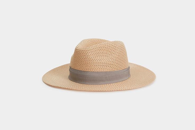 sombrero de paja rafia parfois