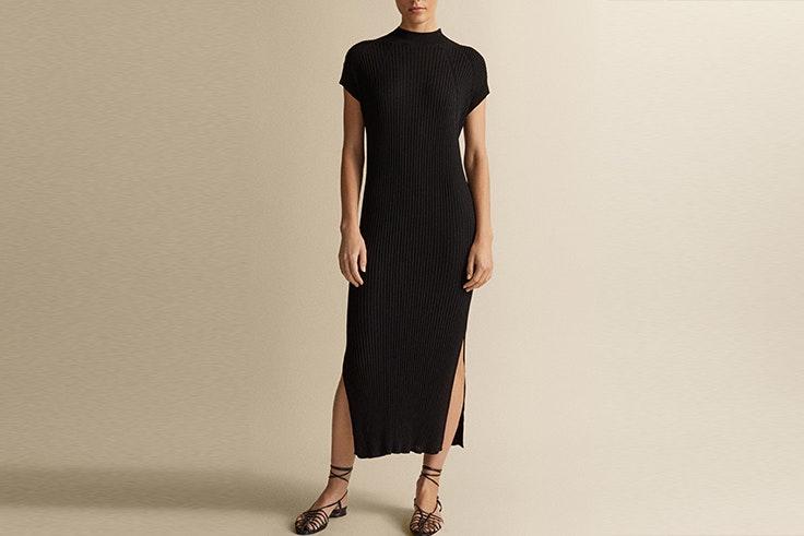vestido massimo dutti los vestidos largos