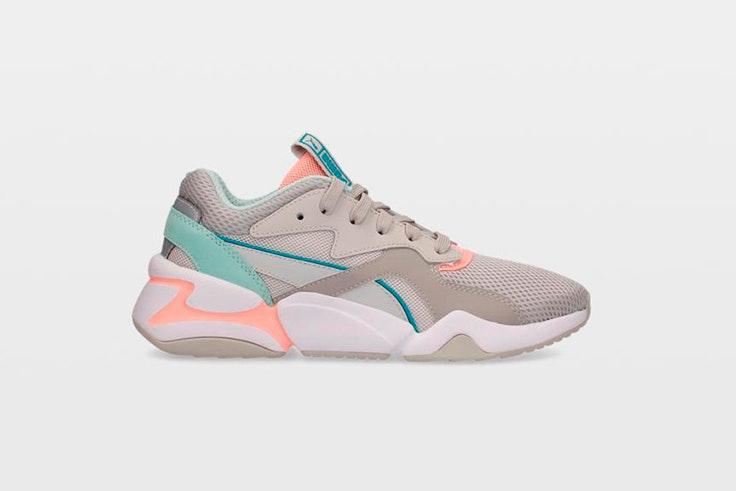 zapatillas deportivas puma colores pastel ulanka