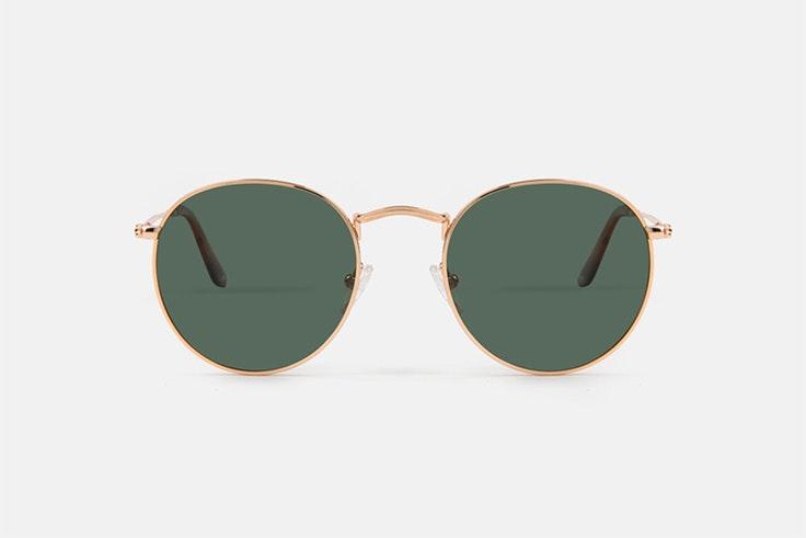 gafas de sol doradas multiopticas