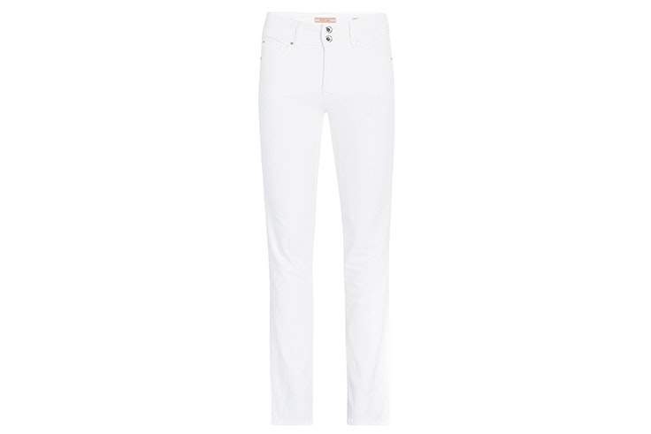 pantalón blanco recto salsa jeans