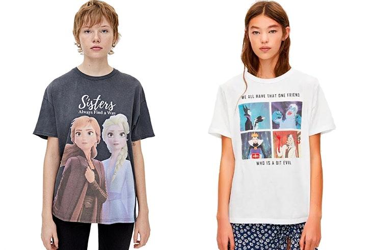 Camisetas-Disney-Pull&Bear