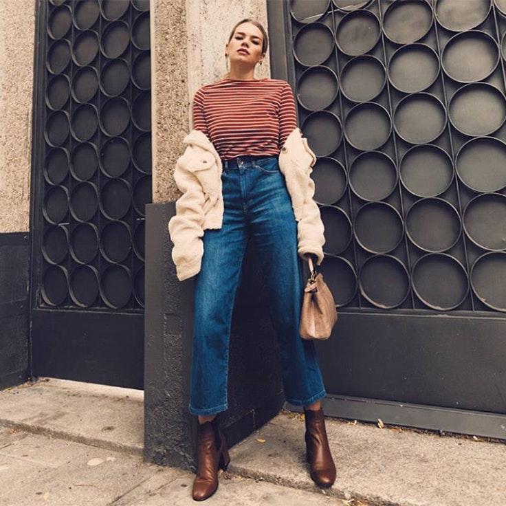 honeydressing mirian pérez estilo instagram pantalon salsa jeans culotte