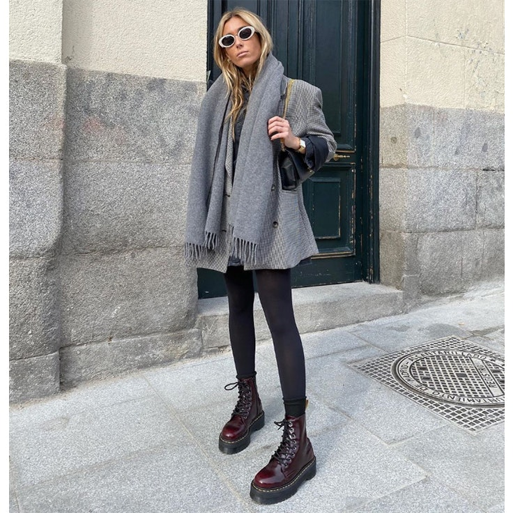 claudia parras estilo instagram accesorios para el frío