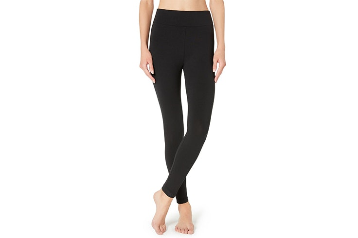 Leggings basicos en color negro de Calzedonia