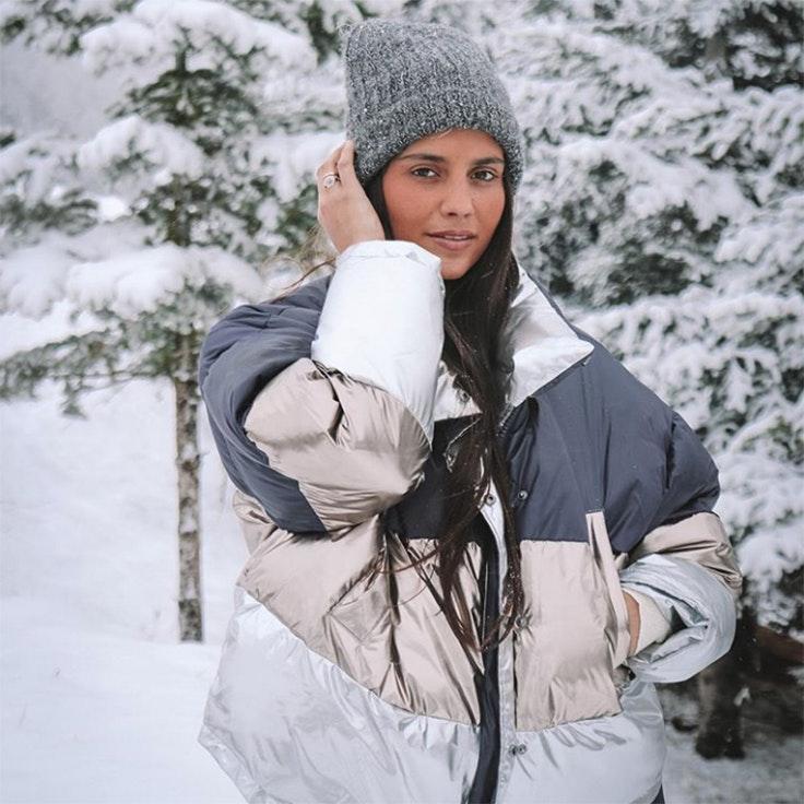 maría García de jaime estilo instagram accesorios para el frío