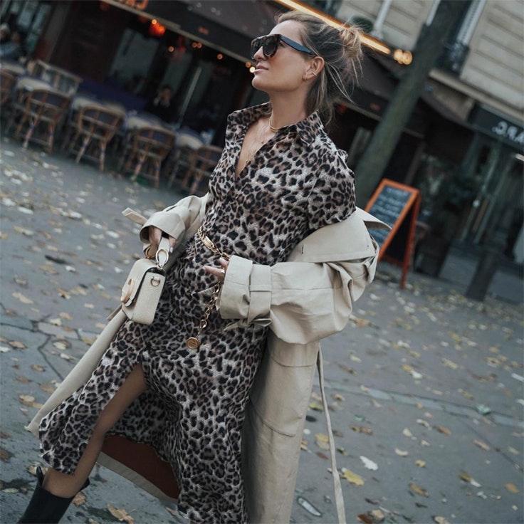 Silvia García vestidos de invierno