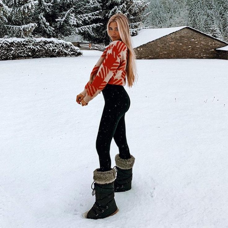 teresa andrés gonzalvo estilo vestir para la nieve