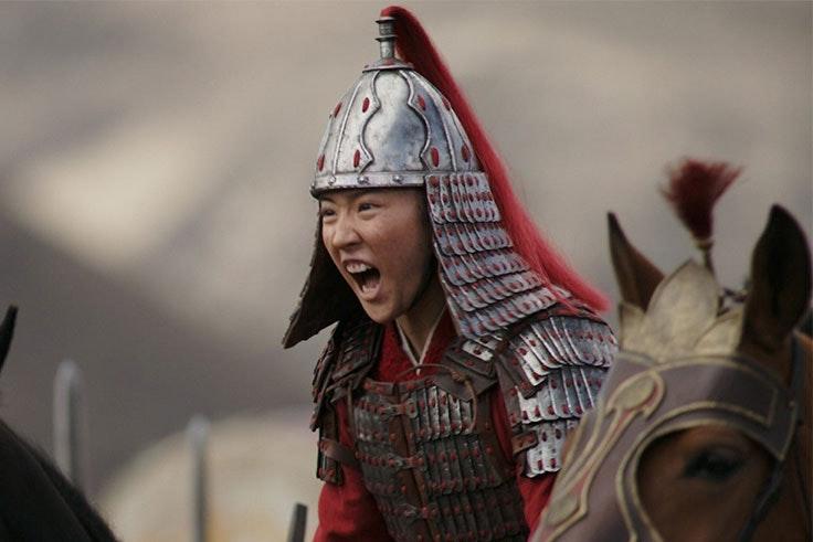 mulán-guerrera