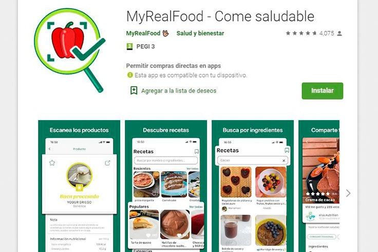 aplicaciones-móviles-the-real-food