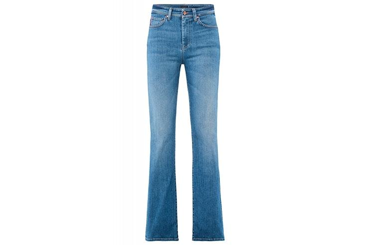 Pantalón vaquero campana de Salsa Jeans