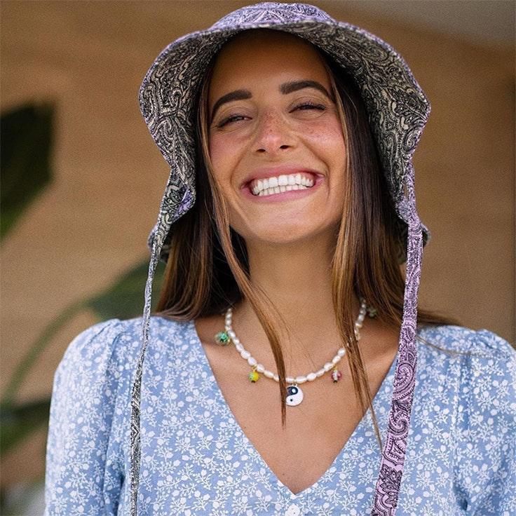 accesorios para verano maría Fernández rubíes bucket hat