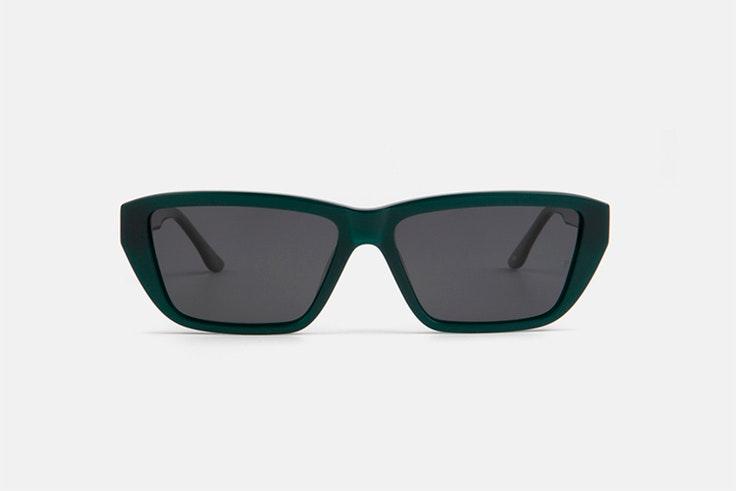 Gafas de sol rectangulares en color verde - 39.00 €