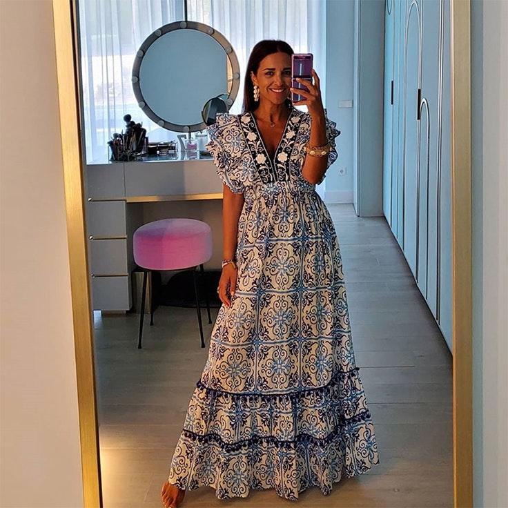 vestidos de verano paula echevarria